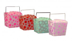 Everyday packaging shapes are made new with specialty materials and printing.