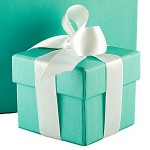 Tiffany Co. incorporates their signature blue into their brand image.