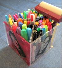 creative uses for jewel cases pen box