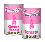 susan g. kolmen for the cure pink social responsibility campbell's soup