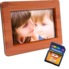 flash memory cards for digital picture frames