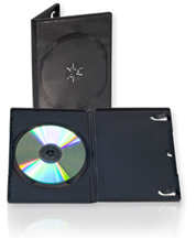 black premium dvd case reuse