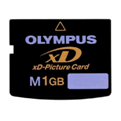 olympus xD picture card 1.0GB