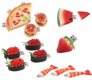 creative food usb flash drives