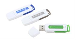 standard colored usb flash drives