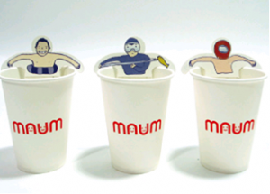 creative tea bags swimmers