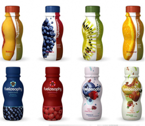 creative packaging colored bottles