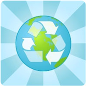 green environmentally-friendly recycling earth