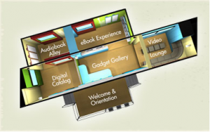 library digital bookmobile floorplan