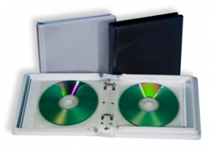 durable cd dvd album case