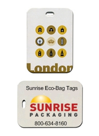 environmentally-friendly luggage tags and bag tags