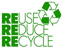 reuse reduce recycle green event and meeting planning