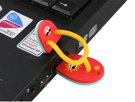 creative usb flash drives flip flop sandal