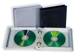 Durable Audiobook CD DVD Album Cases