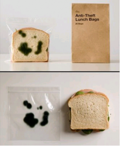 Make sure no one eats your sandwich.