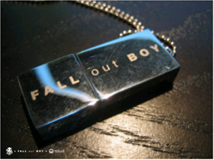 Fall out boy octodrive flash drive contest