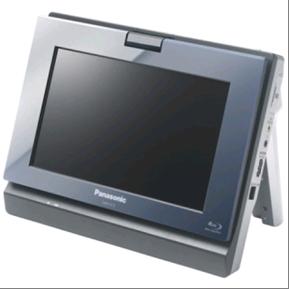 First ever Panasonic portable Blu-Ray player
