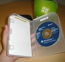 Reduced Packaging Windows 7 Case
