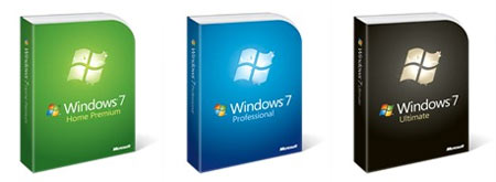 Reduced Packaging Windows 7