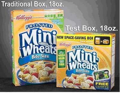 Kellogg's Frosted Mini-Wheats New Box Packaging