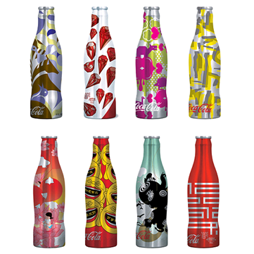 Custom Packaging Coke Bottle Designs