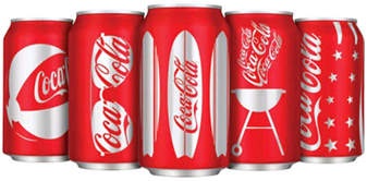 Custom Packaging Coke Cans Summer