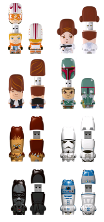MIMOBOT Designer Star Wars USB Flash Drives