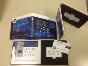 marketing with USB packaging