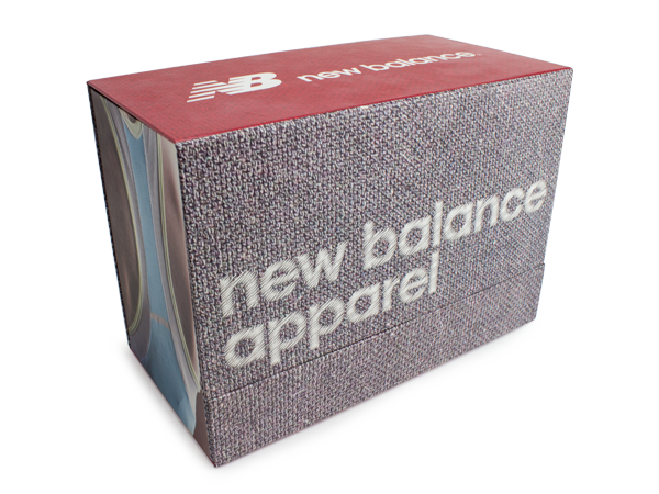 Custom packaging for New Balance