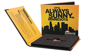 FlashPad, custom flash drive packaging from sunrise packaging