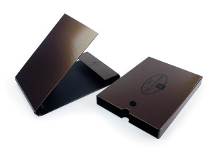 Slip Slant Boxes with box closures luxury packaging