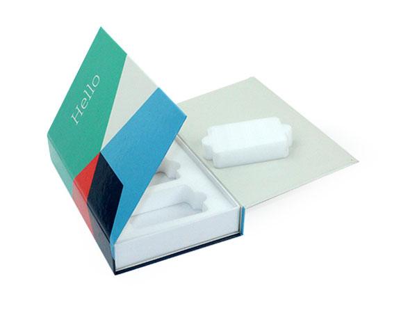 Double Flap Box with foam insert