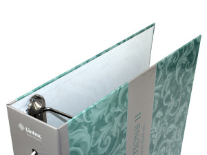 Custom manufactured Catalog Binder, large turned edge binder, large 3 ring binders