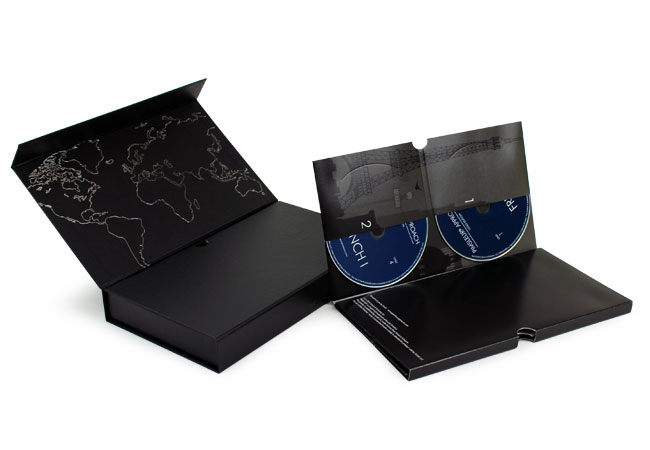 Double flap boxes, custom boxes, custom rigid boxes, fullfilment, foil stamping, custom folders