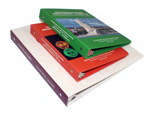 Eco-Binders, custom chipboard binders, custom sbs binders, green eco-binder, ecologicaly friendly binder, recyclable binder