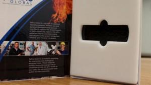 sales kit, custom pad packaging, branding, luxury packaging, high quality packaging