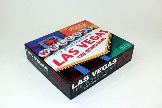 Offset printed custom game box