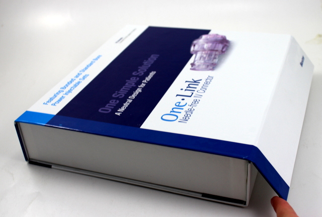 Custom Medical Presentation Sales Kits, custom display kit, custom trays, custom presentation packaging, branding, gloss lamination, cuystom presentation packaging