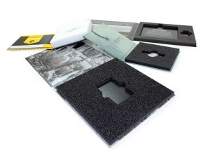 Custom Pad Foam for hybrid packaging