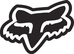 fox racing logo, branding for custom corrugated box