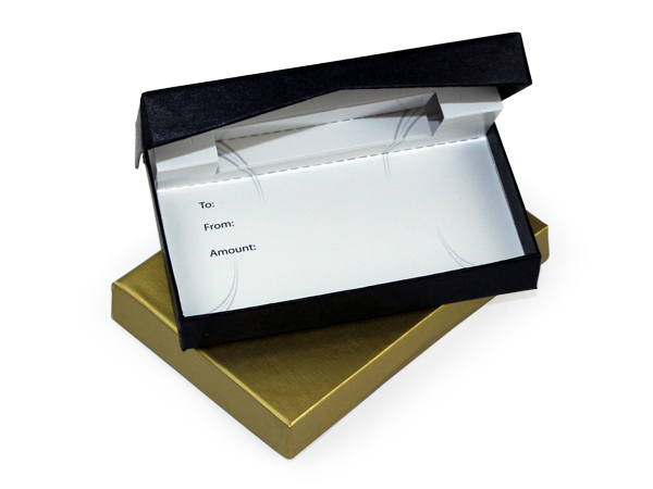 swiftpack custom gift card box