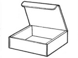 Interlocking Tuck Tab box provides extra security for your corrugated box