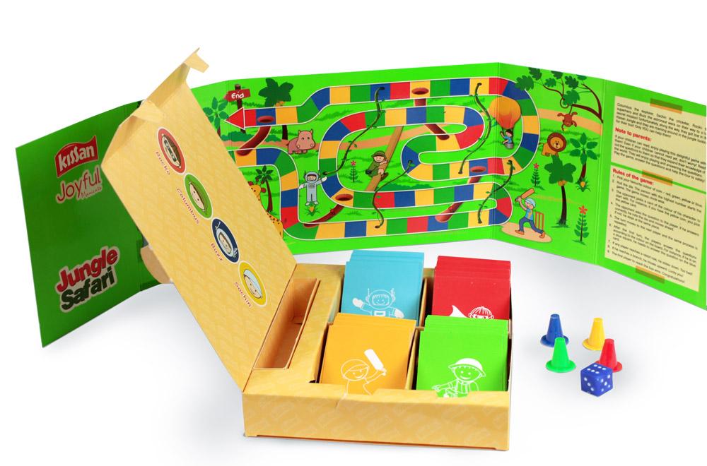 Jungle Safari customized incentive game