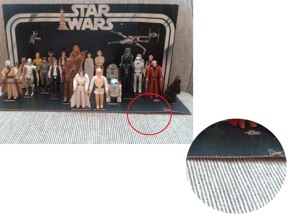 custom corrugated cardboard packaging used in the marketing of popular star wars toys