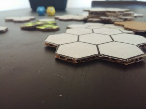 corrugated cardboard for indie board game design