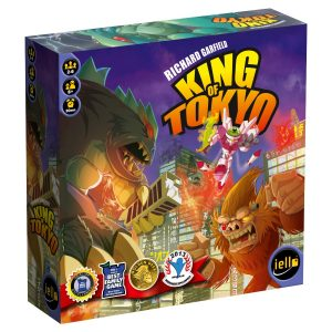 Custom two piece setup box for king of tokyo board game