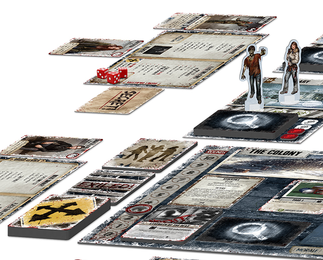 Dead of Winter_custom game board setup