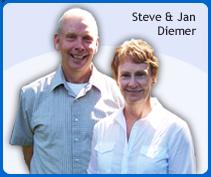 steve and jan diemer_inventor of the little cloud nine travel pillow