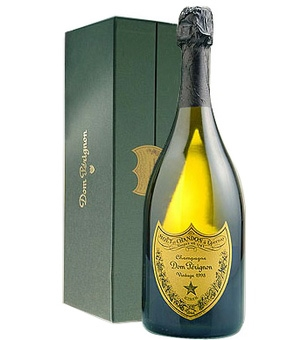 Dom Perignon champagne box from http://www.jamesbondlifestyle.com/