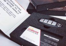 Car Marketing with Key Fob Packaging